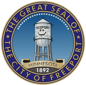 City seal of Freeport, MN
